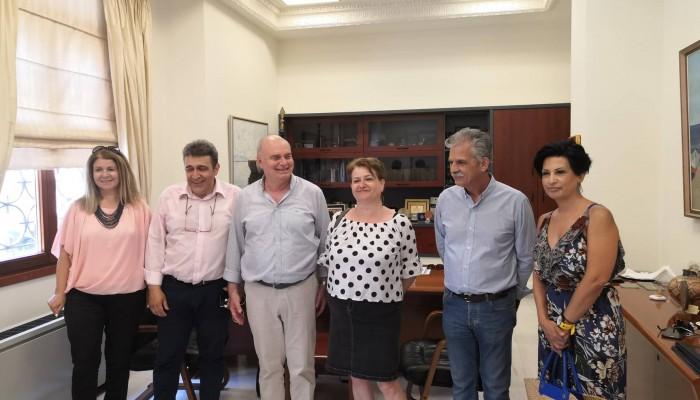 Ο Μανώλης Αλιφιεράκης ενημέρωσε τους συνυποψήφιους του για το Μεταφορικό Ισοδύναμο.