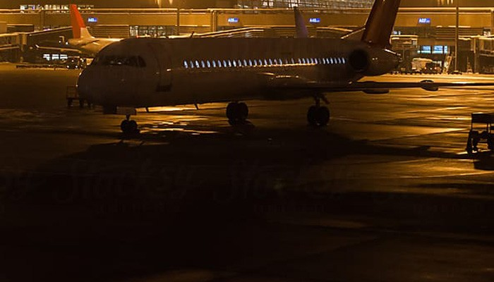 Καθηλώθηκε αεροσκάφος στο αεροδρόμιο Χανίων μετά από πρόσκρουση με όχημα
