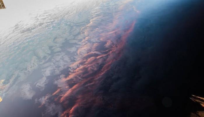 Το ηλιοβασίλεμα από το διάστημα - Φωτο από το Διεθνή Διαστημικό Σταθμό