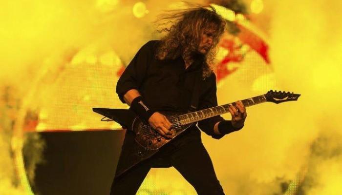 Με καρκίνο στο λαιμό διαγνώστηκε ο τραγουδιστής των Megadeth