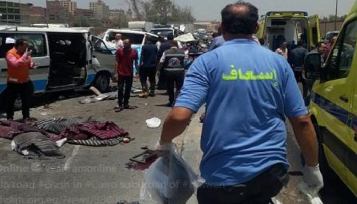 Μακελειό στην άσφαλτο - 14 νεκροί και 10 τραυματίες σε σύγκρουση δύο minibus