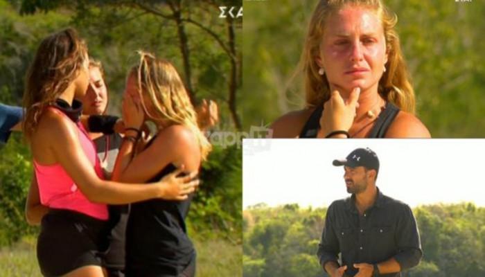 Survivor: Η απρόσμενη ανακοίνωση του Σάκη για τη Δαλάκα! Έβαλε τα κλάματα
