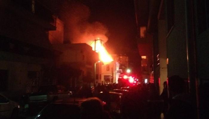 Σοβαρό περιστατικό φωτιάς σε σπίτι στις Βουκολιές - Ένα άτομο στο Νοσοκομείο με εγκαύματα