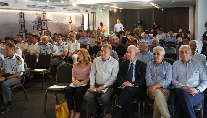 9,5 εκ. ευρώ από την Περιφέρεια Κρήτης για την αντιπυρική προστασία του νησιού
