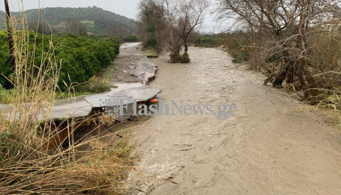 Πιλοτικό σύστημα θα μπορεί να προειδοποιεί εγκαίρως για τον κίνδυνο πλημμυρών στα Χανιά