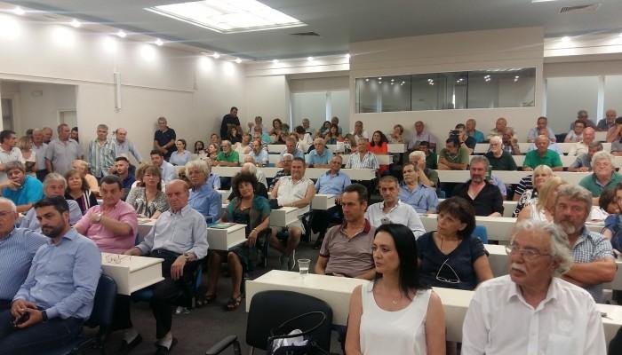 Παρουσιάστηκε το ψηφοδέλτιο του ΚΙΝΑΛ - Αισιοδοξία για έδρα στα Χανιά (φωτο)