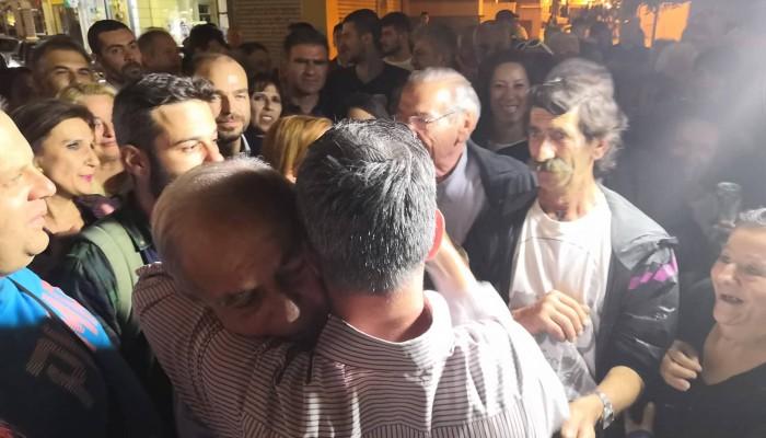 Μεγάλη νίκη του Βασίλη Λαμπρινού στον Δήμο Ηρακλείου!