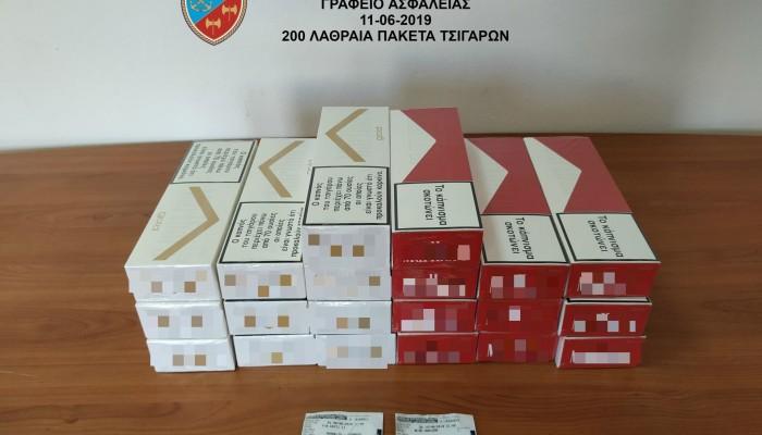 Ταξίδεψε στο Ηράκλειο με 200 πακέτα λαθραίων τσιγάρων