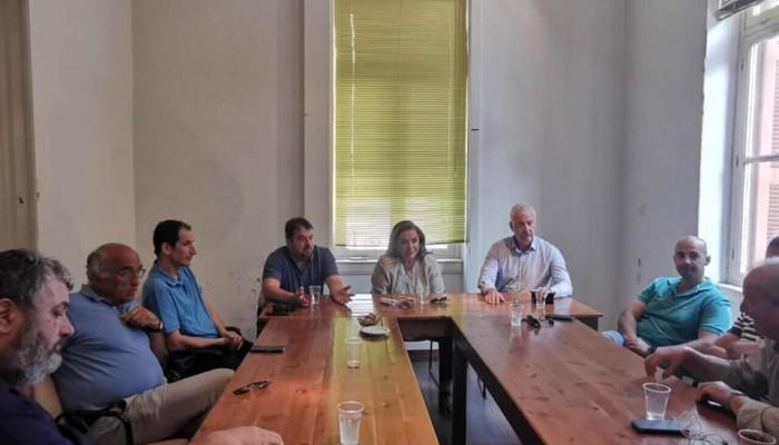 Στο ΤΕΕ ΤΔΚ και στο ΚΤΕΛ Χανίων - Ρεθύμνης η Ντόρα Μπακογιάννη