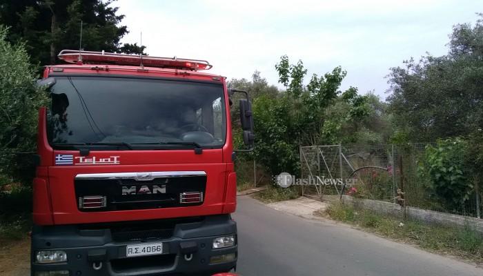 Τρεις φωτιές κινητοποίησαν την Πυροσβεστική