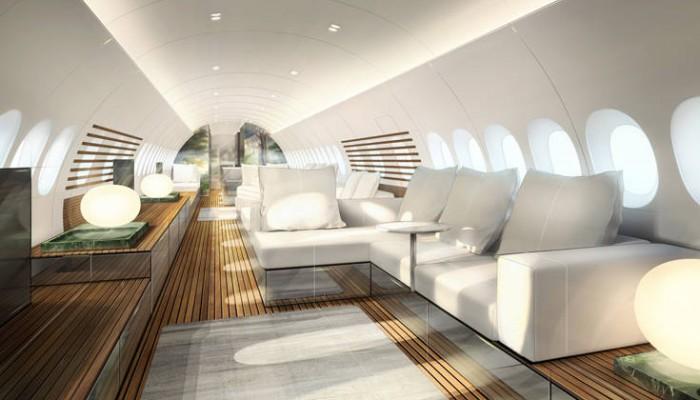 Στο εσωτερικό του νέου Airbus που μοιάζει με πολυτελές γιοτ