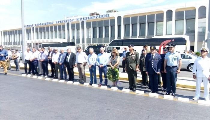 Τιμήθηκαν οι Ήρωες του σαμποτάζ του αεροδρομίου Ηρακλείου