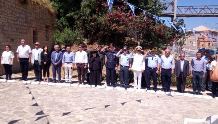 Τελετή μνήμης στη «Στοά Μακάσι» στο Ηράκλειο (φωτο)