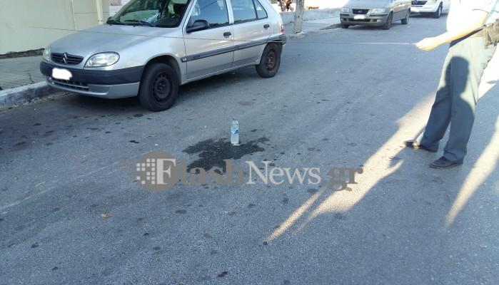 Νεαρός παρασύρθηκε από αυτοκίνητο σε τροχαίο στη Σούδα (φωτο)