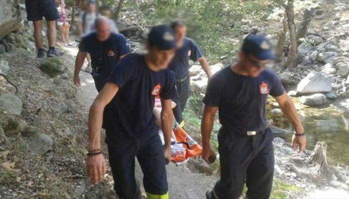 Επιχείρηση διάσωσης στήθηκε στον Καμπανό στο μονοπάτι Ε4