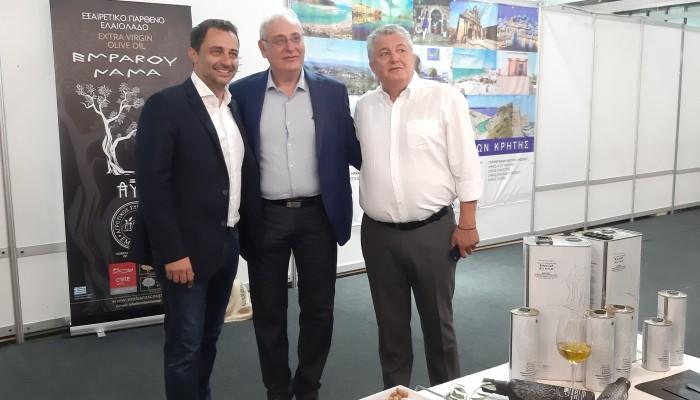Συμμετοχή του Δήμου Βιάννου στην 13η Αγροκτηνοτροφική έκθεση Αρκαλοχωρίου