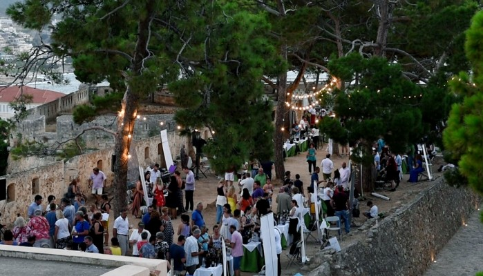 «Wines of Crete @ Fortezza» στο Ρέθυμνο (φωτο)