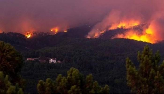 Σε «πύρινο κλοιό» κεντρικό τμήμα της Πορτογαλίας - Πάνω από 900 πυροσβέστες δίνουν μάχη