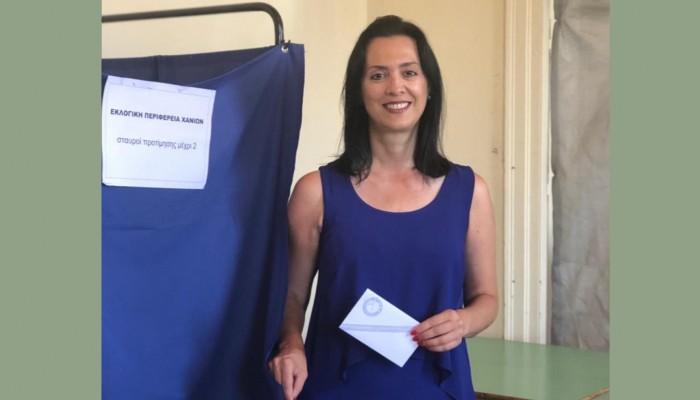 Ευαγγελία Κουρουπάκη: Η ψήφος στο Κίνημα Αλλαγής είναι ψήφος στην ομαλότητα