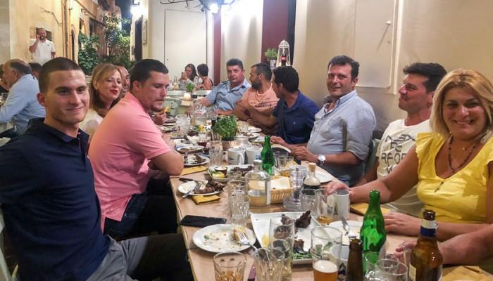 Δείπνο προς τιμή του πρωταθλητή Ευρώπης