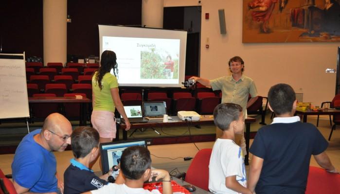 Πρόγραμμα Ρομποτικής για παιδιά στην Ορθόδοξο Ακαδημία Κρήτης
