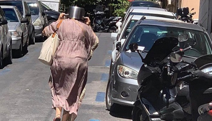 Ο σεισμός στην Αθήνα και....η κατσαρόλα στο κεφάλι