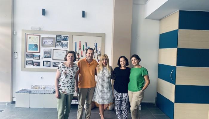 Επίσκεψη της υποψήφιας βουλευτού Έλβης Στασσίνου στο ΚΗΦΑΠ και τον Ορίζοντα