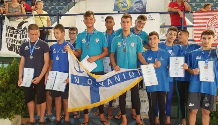 Αρχή με 11 μετάλλια και πανελλήνιο ρεκόρ ο ΝΟΧ στη Χίο