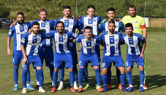 Φιλική νίκη με Αγρ. Αστέρα (1-0)