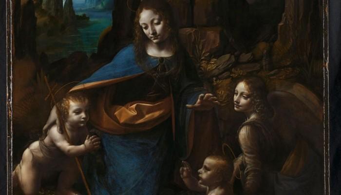 Ανακαλύφθηκαν,με ακτίνες Χ,τα προσχέδια της «Παρθένου των Βράχων» του Λεονάρντο ντα Βίντσι