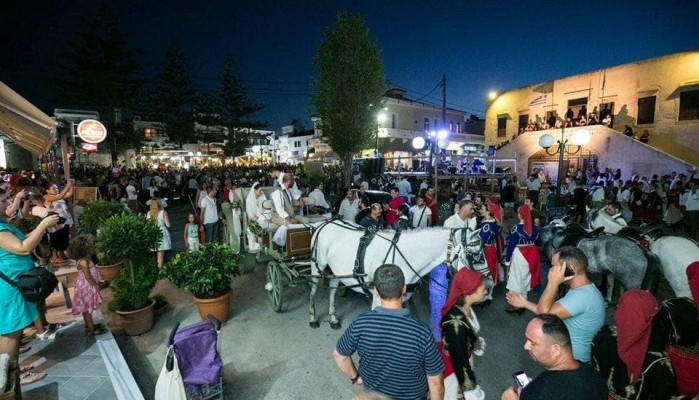 45η αναπαράσταση Κρητικού γάμου στην Κίσσαμο
