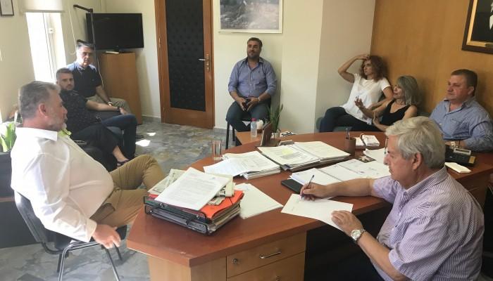 Υπογραφή σύμβασης για την πολεοδομική μελέτη της Αμμουδάρας