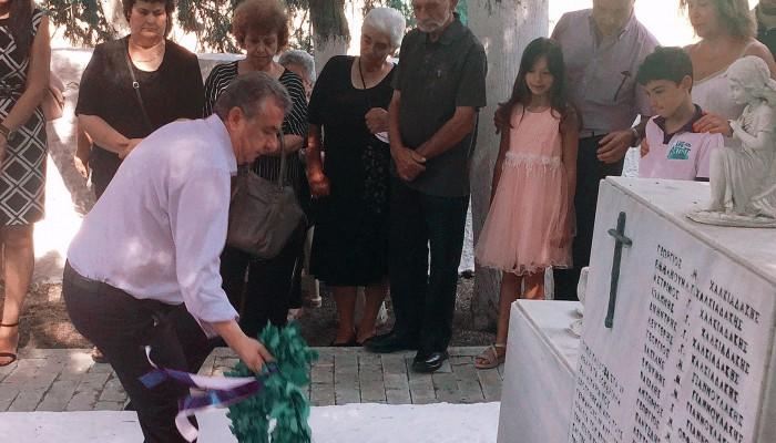 Αρναουτάκης:Τιμούμε την μνήμη των 27 ηρώων του Σοκαρά και όλων των Κρητικών πατριωτών