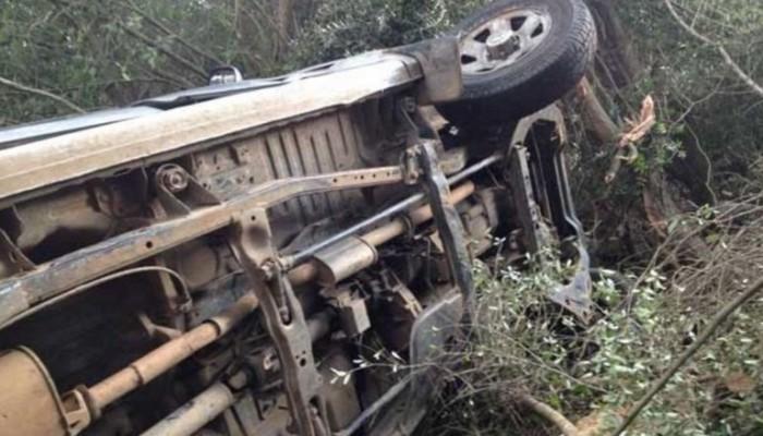 Αυτοκίνητο βούτηξε σε γκρεμό στο Σέλινο Χανίων