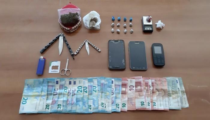 Ηράκλειο: Τέσσερις συλλήψεις για ναρκωτικά και μαχαίρια! (φώτος)