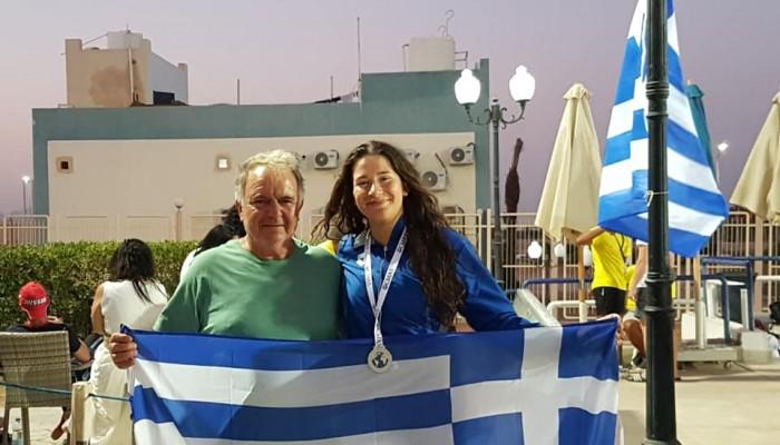 Ασημένιο μετάλλιο στο Παγκόσμιο πρωτάθλημα η Σκυλουράκη