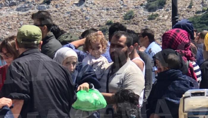Πρόσφυγες στα Πάρπαντα Καρδαμύλων - Ένας νεκρός