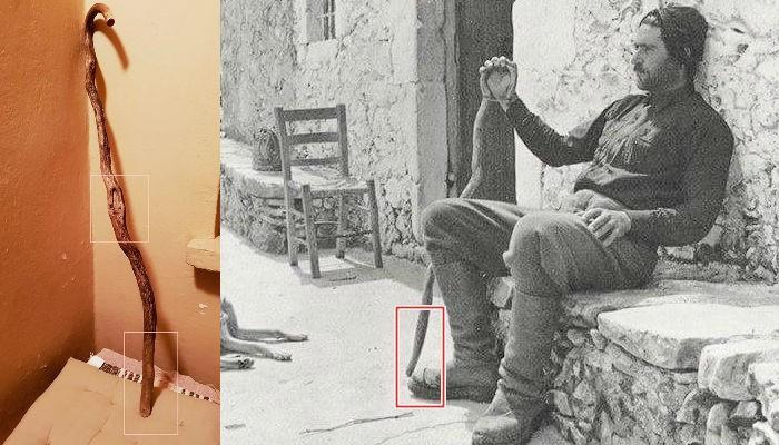 Η κατσούνα που επέστρεψε στον Σφακιανό ιδιοκτήτη της μετά από….65χρόνια! (φωτο)