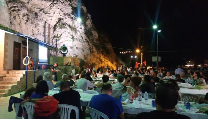 Συνεχίστηκαν οι προφεστιβαλικές εκδηλώσεις της ΚΝΕ στις Καλύβες