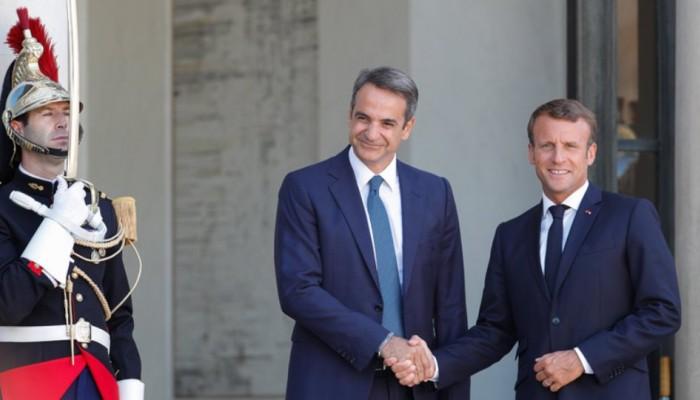Μακρόν: Γαλλία και ΕΕ δεν θα δείξουν αδυναμία απέναντι στην Τουρκία για την κυπριακή AΟΖ