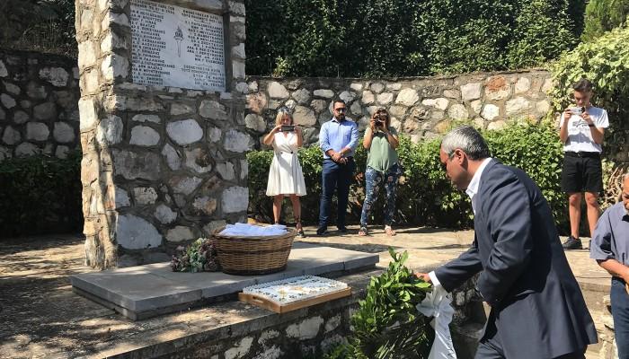 Σε Δαμάστα και Μάραθο ο Χάρης Μαμουλάκης για τις εκδηλώσεις τιμής