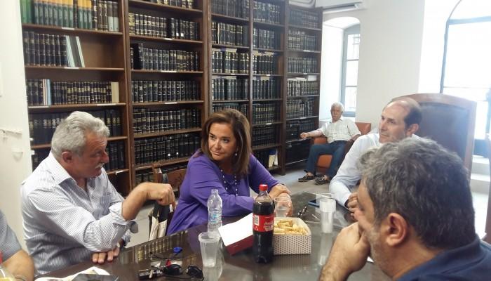 Η απάντηση της Ντόρας Μπακογιάννη στην ανακοίνωση του ΣΥΡΙΖΑ Χανίων