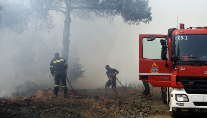Αυξημένος ο κίνδυνος πυρκαγιάς στην Κρήτη σήμερα