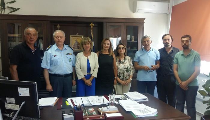 Στο επίκεντρο η πρόληψη των τροχαίων στη συνάντηση Α. Ρουτζάκη με τον Σύλ.