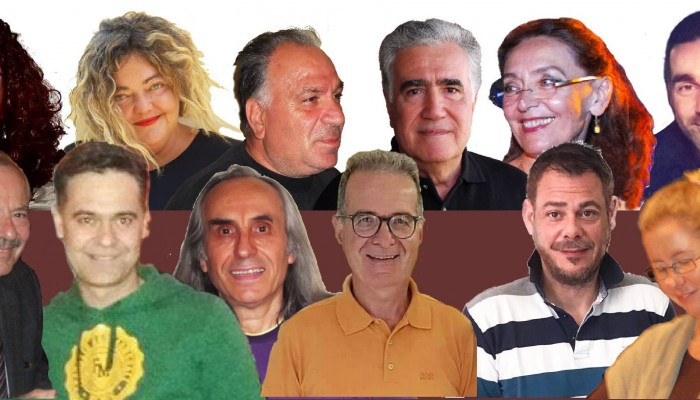 Ο Βαγγέλης Σαμαράκης με την «Μουσική Συντροφιά» στο Γάζι