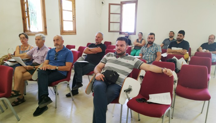 Ενημερωτική συνάντηση για το πρόγραμμα Leader στα Σφακιά