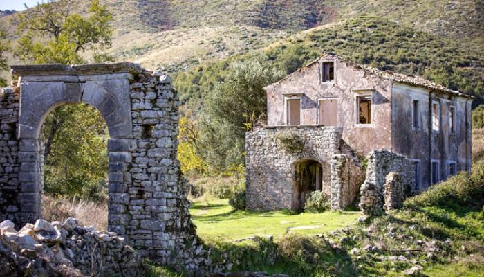 Το ιστορικό χωριό-«φάντασμα» στην Κέρκυρα