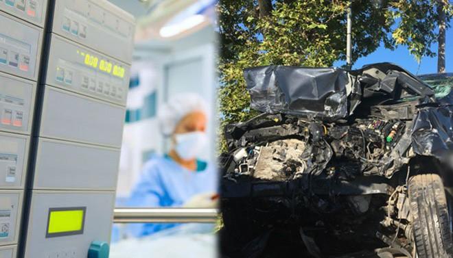 Στο Ηράκλειο μεταφέρθηκε ο ένας τραυματίας του θανατηφόρου τροχαίου στα Χανιά
