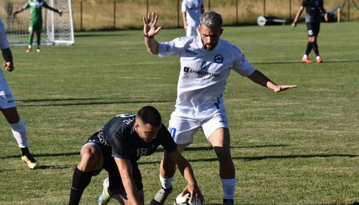 Φιλική ήττα από Βέροια (1-0)