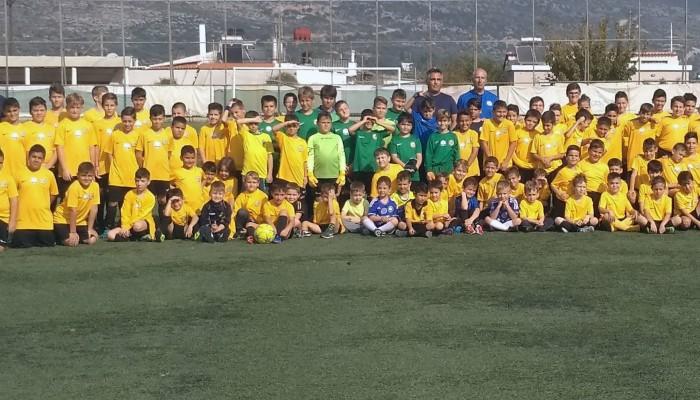 Παίξε μπάλα και μάθε ποδόσφαιρο στην Ακαδημία Ποδοσφαίρου Σούδας - Έναρξη εγγραφών